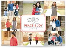 Stamped Peace & Joy