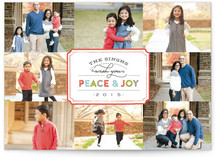 Stamped Peace & Joy