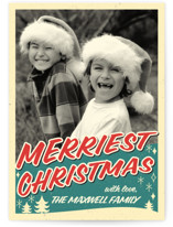 Retro Merriest Christmas