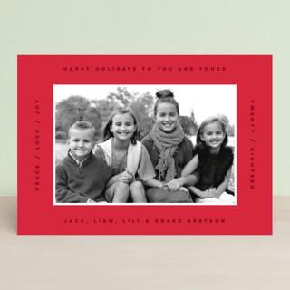 border boldness Holiday Petite Cards