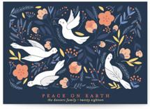 Birds Botanical Peace by curiouszhi design