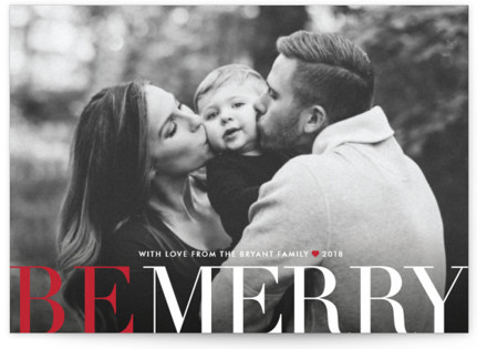 Big and Merry Petite Holiday Cards