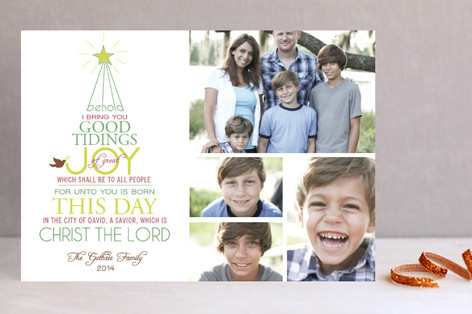 Good Tidings of Joy Holiday Petite Cards