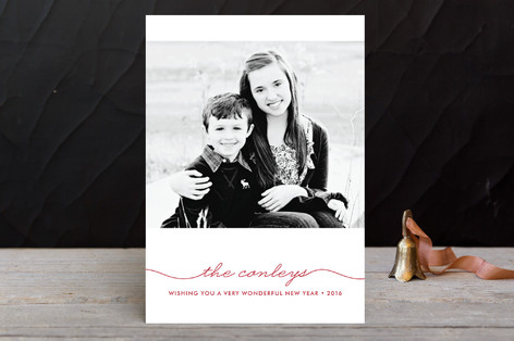 Beautifully Penned Holiday Petite Cards