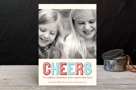 Stripe Type Holiday Petite Cards