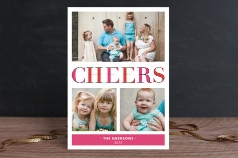 Deconstructed Cheers Holiday Petite Cards