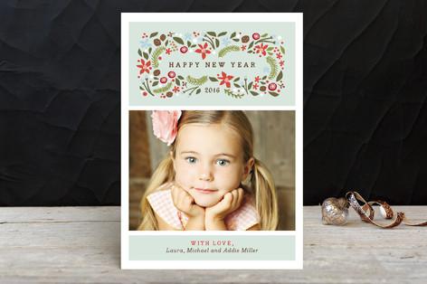 Blushing Christmas Holiday Petite Cards