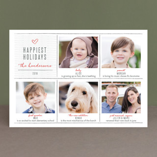 pencil it out Holiday Petite Cards