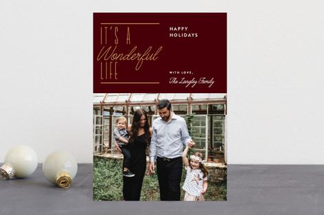 Wonderful Christmas Holiday Petite Cards