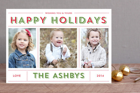 Bold & Bright Holiday Holiday Petite Cards