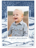 Snowy Day Holiday Petite Cards