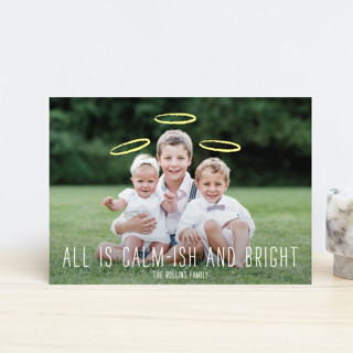 Calm-ish + Bright Holiday Petite Cards