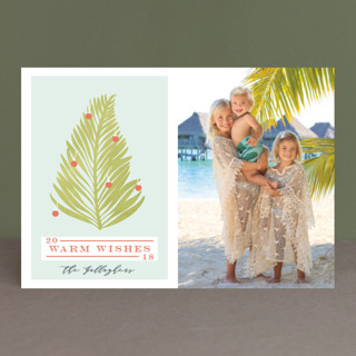 Tropical Tree Holiday Petite Cards