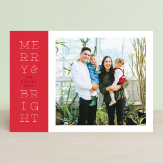 bright stack Holiday Petite Cards