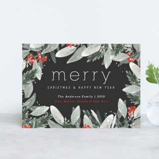 Berry Merry Christmas Holiday Petite Cards