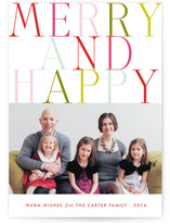 colorful merry and happ... by toast & laurel