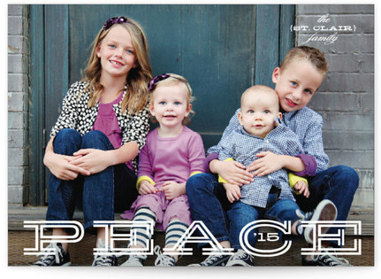 Peaceful Greeting Petite Holiday Cards