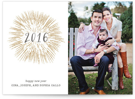 Fireworks Petite Holiday Cards