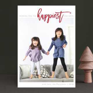 The Happiest Holidays Holiday Petite Cards