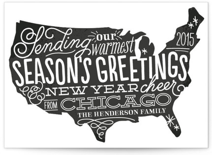 Stateside Holiday Non-Photo Cards