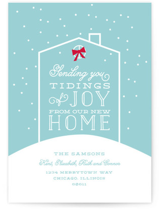 Tidings From Home Holiday Non-Photo Cards