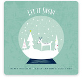 Let It Snow Globe