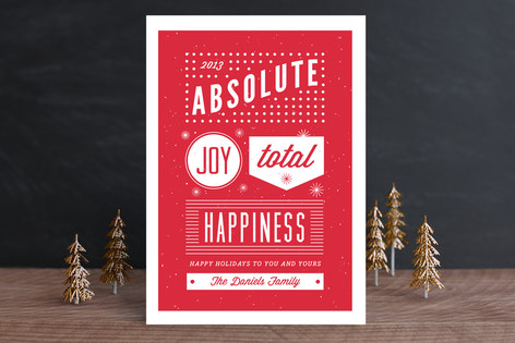 Absolute Joy Holiday Cards
