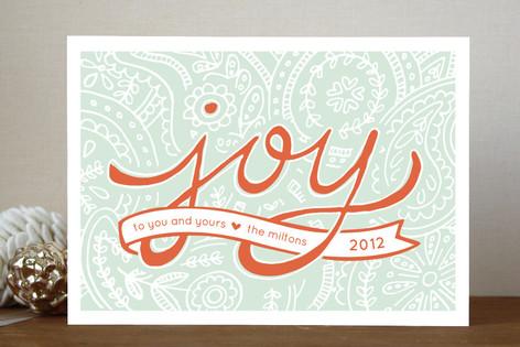Paisley Joy Holiday Cards