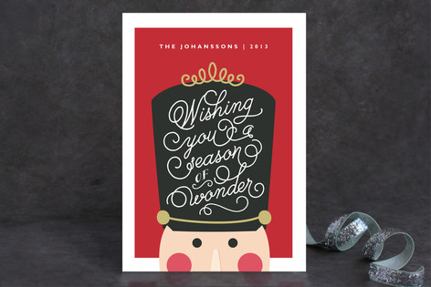 Nutcracker Wonder Holiday Cards