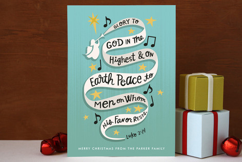 Angel Song Holiday Cards