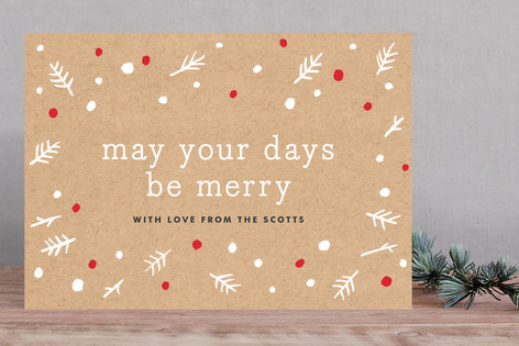 Kraft & Berry Holiday Cards