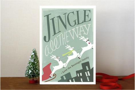 Reindeer Flair Holiday Cards
