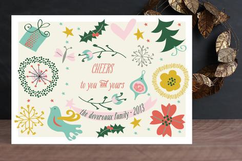 Naive Noel Holiday Cards