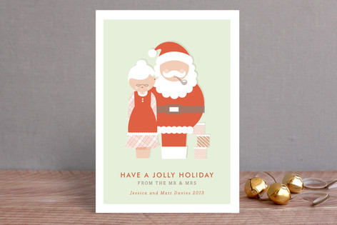 Mr & Mrs Holiday Cards