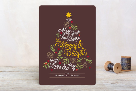 Be Merry and Bright Holiday Cards