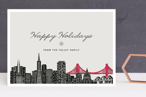 Big City - San Francisco Holiday Cards