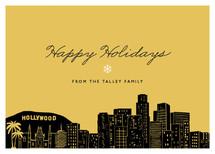 Big City - Los Angeles Holiday Non-Photo Cards