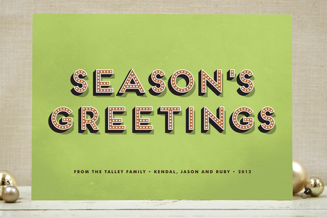 Bold Charm Holiday Cards