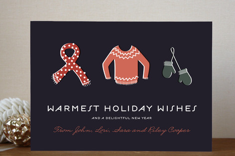 Bundled Tight Holiday Cards