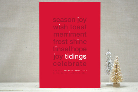 Dotted I Holiday Cards
