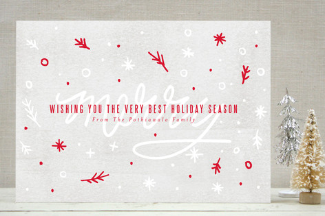 Merryfetti Holiday Cards