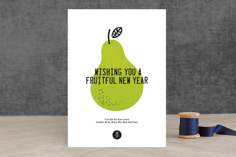 Fruitful Holiday Cards
