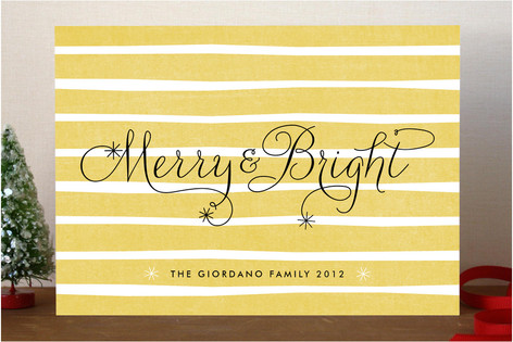 Merry and Bright Holiday Cards