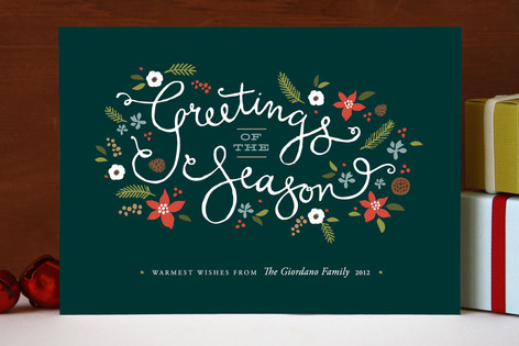 Greetings of the Season Holiday Cards