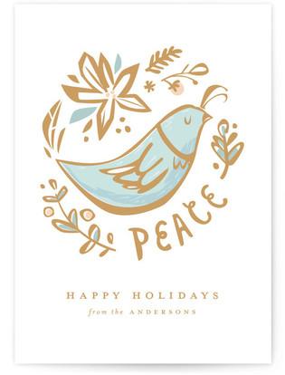 Cardinal Holiday Non-Photo Cards