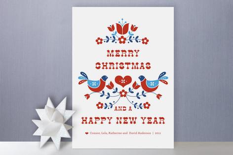 Dutch Folksy Christmas Holiday Cards