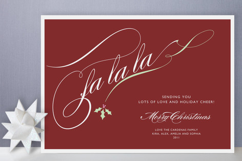 Holly Soiree Holiday Cards