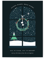 Wintery Silent Night by Bonjour Berry