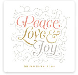 Embellished Peace Love & Joy