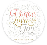 Embellished Peace Love & Joy